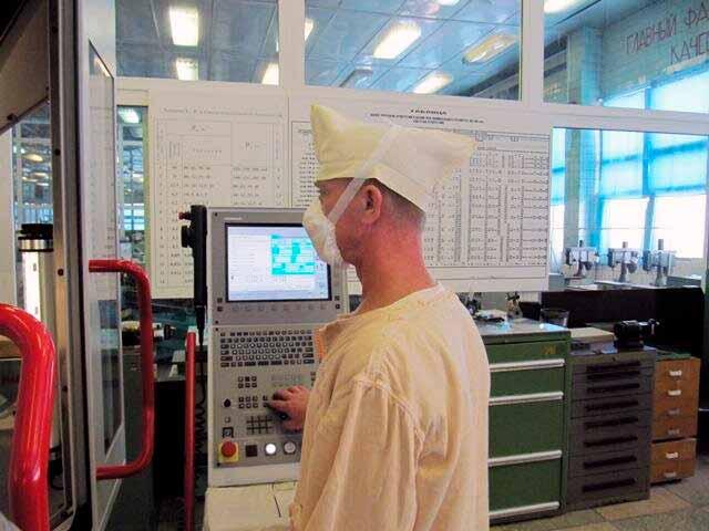 Лаборатория по производству микрооптики