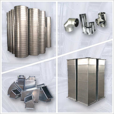 Воздуховоды для вентиляции и фасонные изделия для воздуховодов