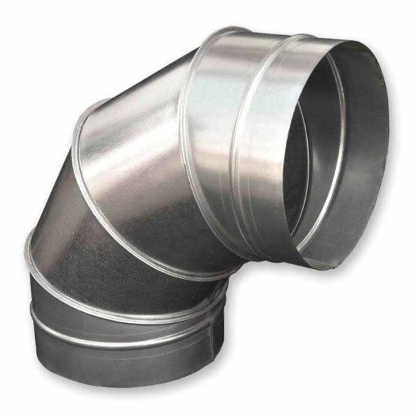 отвод круглый для воздуховодов