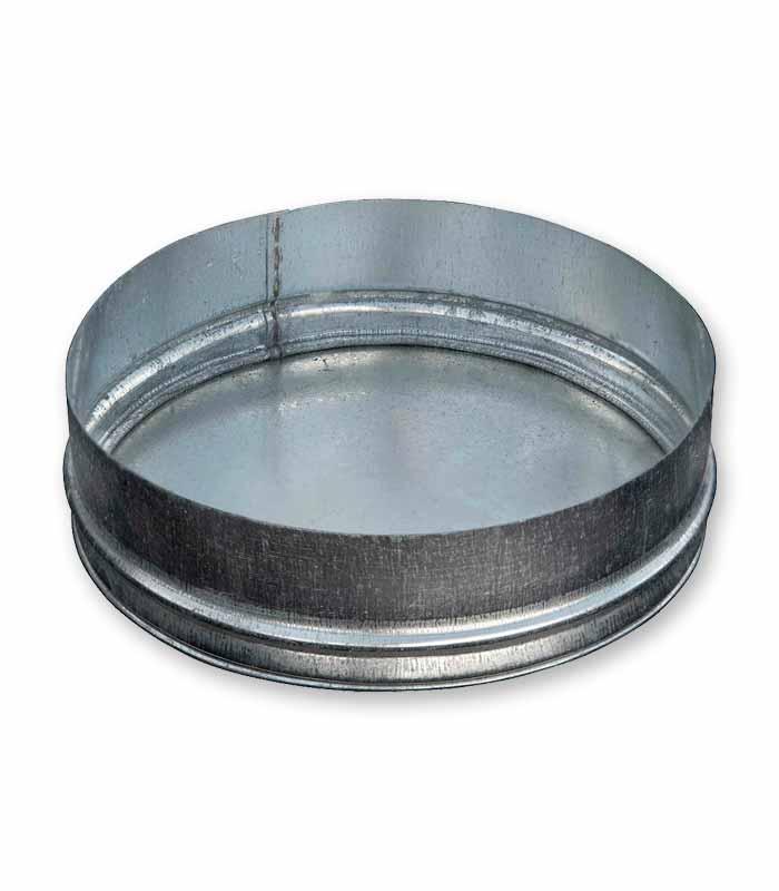 заглушка круглая торцевая для воздуховода