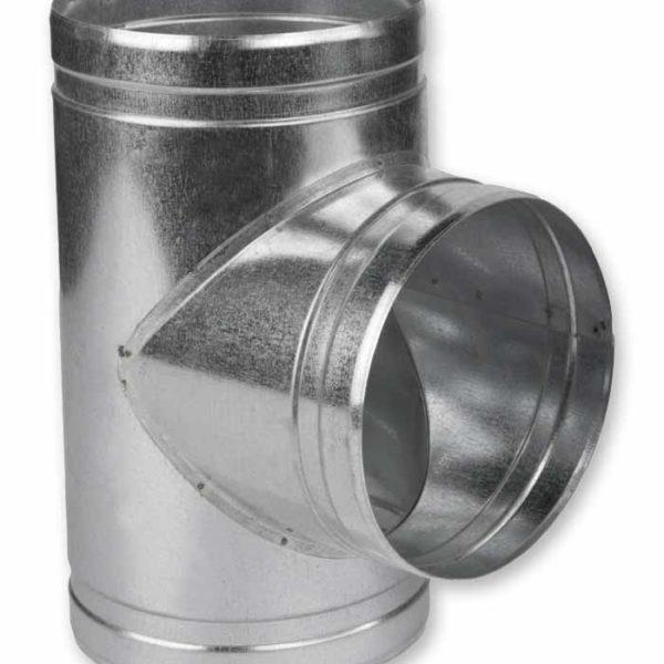 тройник круглый для воздуховода