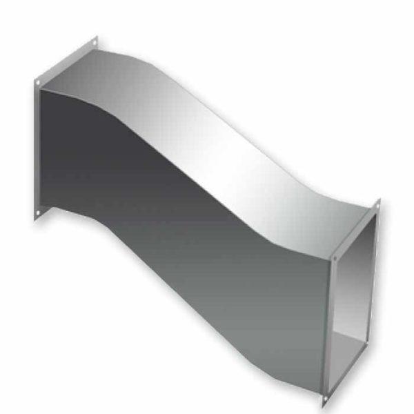 утка прямоугольная для воздуховода