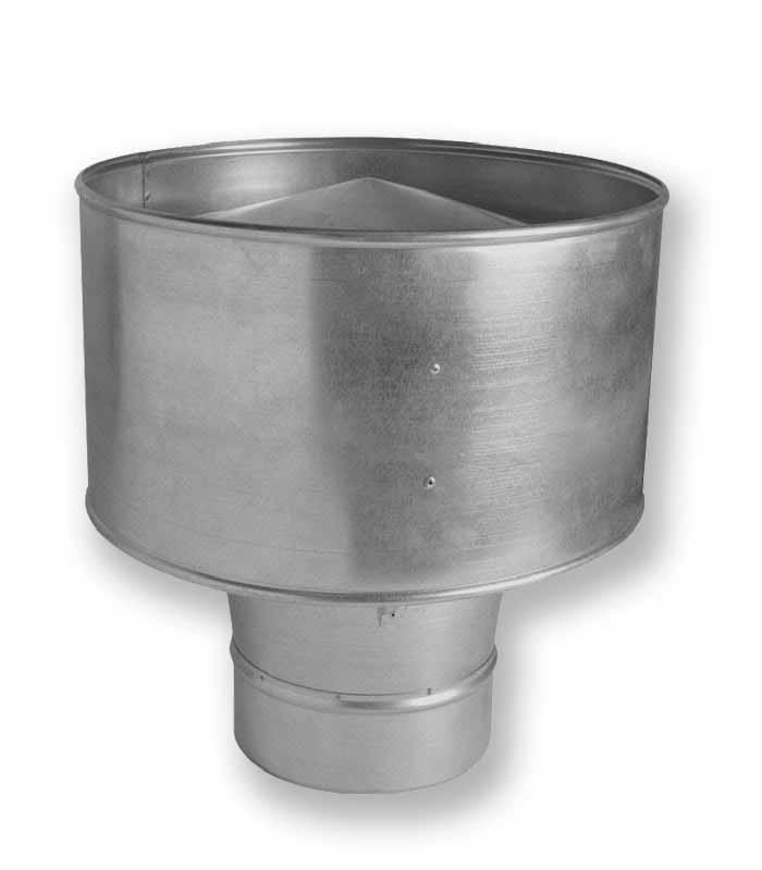 дефлекторы вентиляционные для воздуховодов рис.1