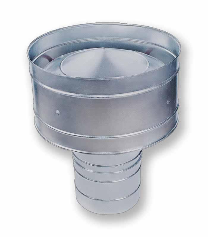 дефлекторы вентиляционные для воздуховодов рис.3