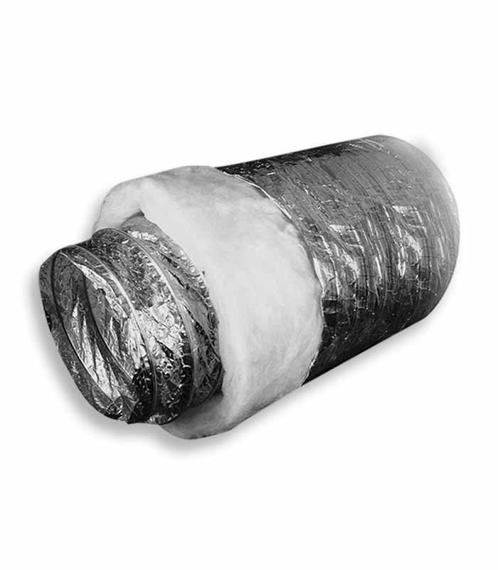 воздуховод гибкий теплоизолированный шумопоглoщающий серии Акустик Эконом рис.2