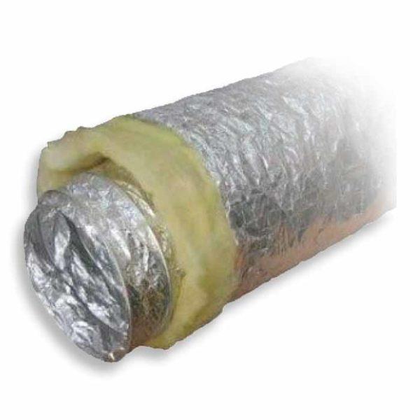 воздуховод гибкий теплоизолированный шумопоглoщающий серии Акустик Эконом рис.3