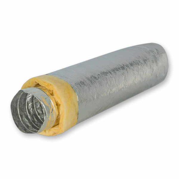 воздуховод гибкий теплоизолированный шумопоглощающий фольгированный серии Акустик Стандарт