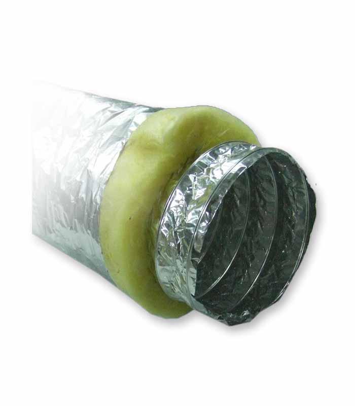 воздуховод гибкий теплоизолированный шумопоглощающий фольгированный серии Акустик Стандарт рис.2